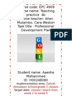 pdp goals project - final