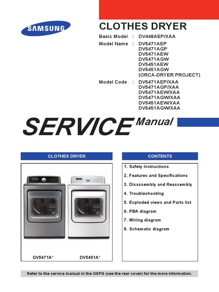 338045360-DV5471A-DV5451A-Samsung-Dryer-Manual-DC68-02800A pdf
