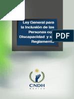 Foll Ley General Discapacidad