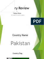 Country Review of Pakistan