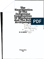 121775772 Rodil 1994 Minoritization of Indigenous Communities MindanaoSulu PDF