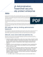 6125 Just Enough Administration Windows PowerShell Security Controls Help Protect Enterprise Data Article