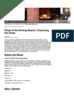Ritual of the Shining Beacon Small
