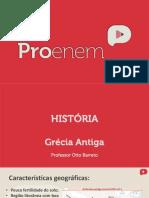 História geral -Grécia Antiga.