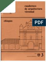 Cuaderno_3 Arq. Virreinal Chiapas