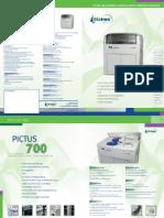 Pictus 700 Biochemistry Analyzer