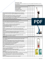 9_Work at Height Review Checklist Tool