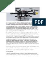 Los Drones y su uso