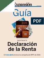 Guia Declaracion Renta 2016