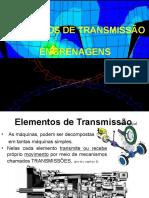 Aula Elementos de Transmissão - Engrenagens