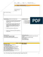 argument unit outline and daily lesson plans