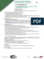 Regulamento I Batalha de Guarda Redes Fut.7