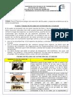 Especies en Peligro de Extincion Floray Fauna Del Ecuador y Especies Endemicas de Sierra Ecuatoriana