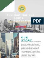 2017 Sunlight Fine Rug Care Interior designers Brochure