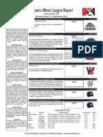 4.30.17 Minor League Report