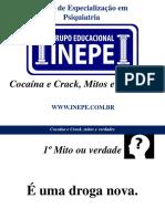 Cocaína e Crack, Mitos e Verdades