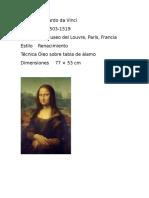 AutorLeonardo Da Vinci