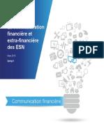 Communication Financiere Des ESN 2015