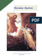 The Eleusinian Mysteries - Los Misterios de Eleusis