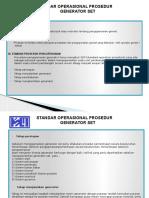 Standar Operasional - Genset