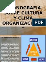 Trabajo Cultura Organizacional