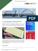 La UPV Desarrolla Un Ladrillo Antisísmico _ Estructurando