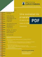 IJM - Una Sociedad de Propietarios - El Camino de Los Ciudadanos Hacia La Independencia Financiera