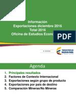 Informe Exportaciones Colombia Hasta Diciembre 2017