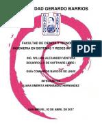 Guía Comandos Basicos de Linux
