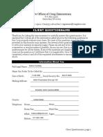MG - Client Questionnaire Auto File Out