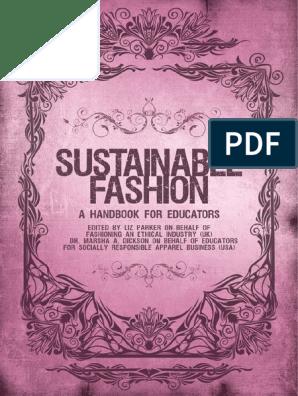 Sustainable Fashion Handbook Full Version Academic Degree Bachelor S Degree Free 30 Day Trial Scribd