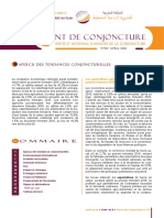 Point de conjoncture N°30, Avril 2016