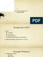 case conceptualization of kd  1