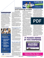 Pharmacy Daily for Mon 01 May 2017 - Hyland teething trouble, CHF urges safety net reform, Kiss MyAsthma app, Weekly Comment and much more