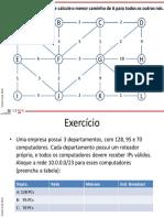 Exercícios redes