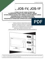 Aiphone JO Video Intercom Installation