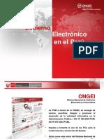 Gobierno Electronico 2016