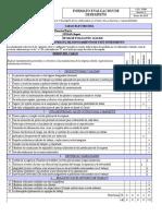 F.008 Formato Evaluación de Desempeño MEI