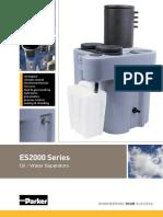 Domnick Hunter ES2000 Series Oil Water Separators Manual