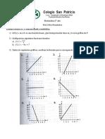 5 Trabajo Practico N 3 Funcion Lineal y Cuadratica