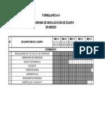A-9 Cronograma de Movilizacion