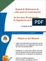 Conferencia Manual de Tarifas de Ingeniera 2008