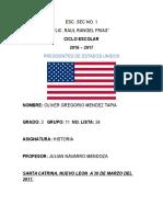 Presidentes de Estados Unidos (Historia)