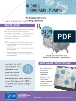 Pdmp Factsheet A