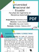 Electronica - transistor mono union y fototransistor.pptx