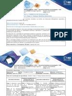 Guía de Actividades y Rúbrica de Evaluación - Fase 3 Trabajo Cambios Químicos