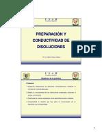 PREPARACIÓN Y CONDUCTIVIDAD DE DISOLUCIONES
