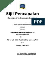 sijil pencapaian