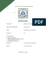 Trabajo de Investigación Materiales Bituminosos