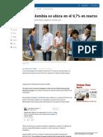 8 Desempleo en Colombia en Marzo - ELTIEMPO